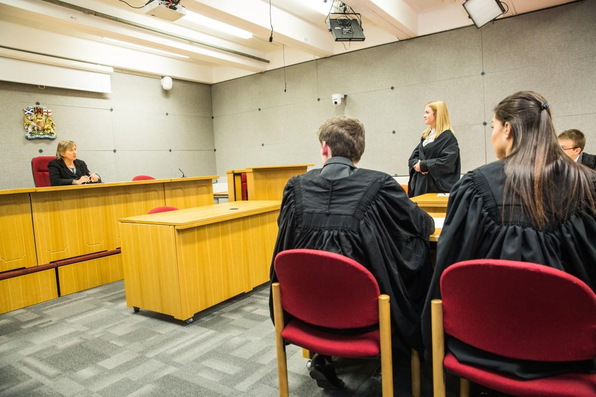 Law students at Robert Gordon University. Source: Robert Gordon University