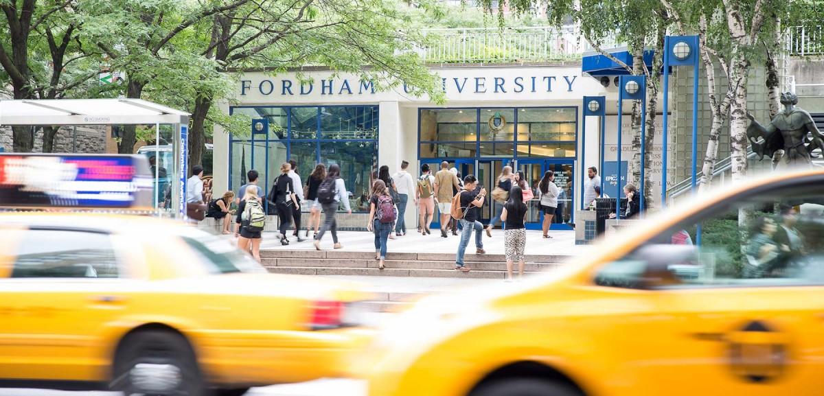 Fordham Lincoln Center / Source: Fordham University, IALC