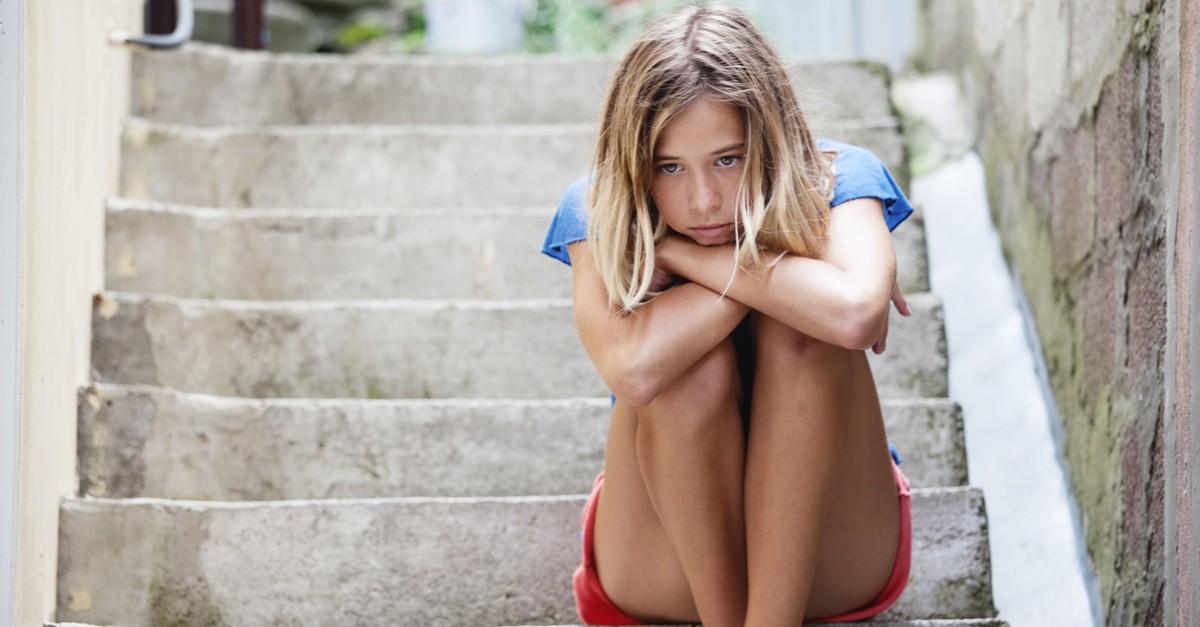 Confidence plummets when children get to middle-school. Source: Shutterstock/Gladskikh Tatiana.