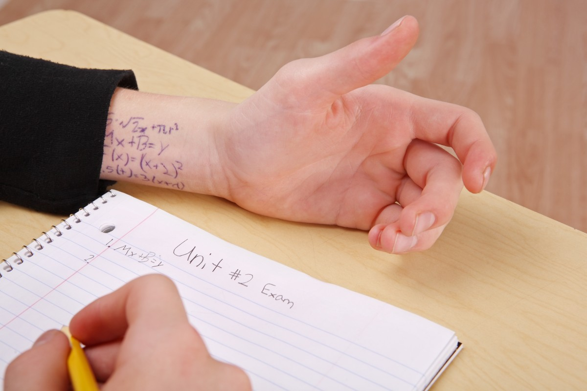 Students are finding more and more ways to cheat. Schools, colleges and universities are going to stop them. Source: Shutterstock/Pakawat Suwannaket.