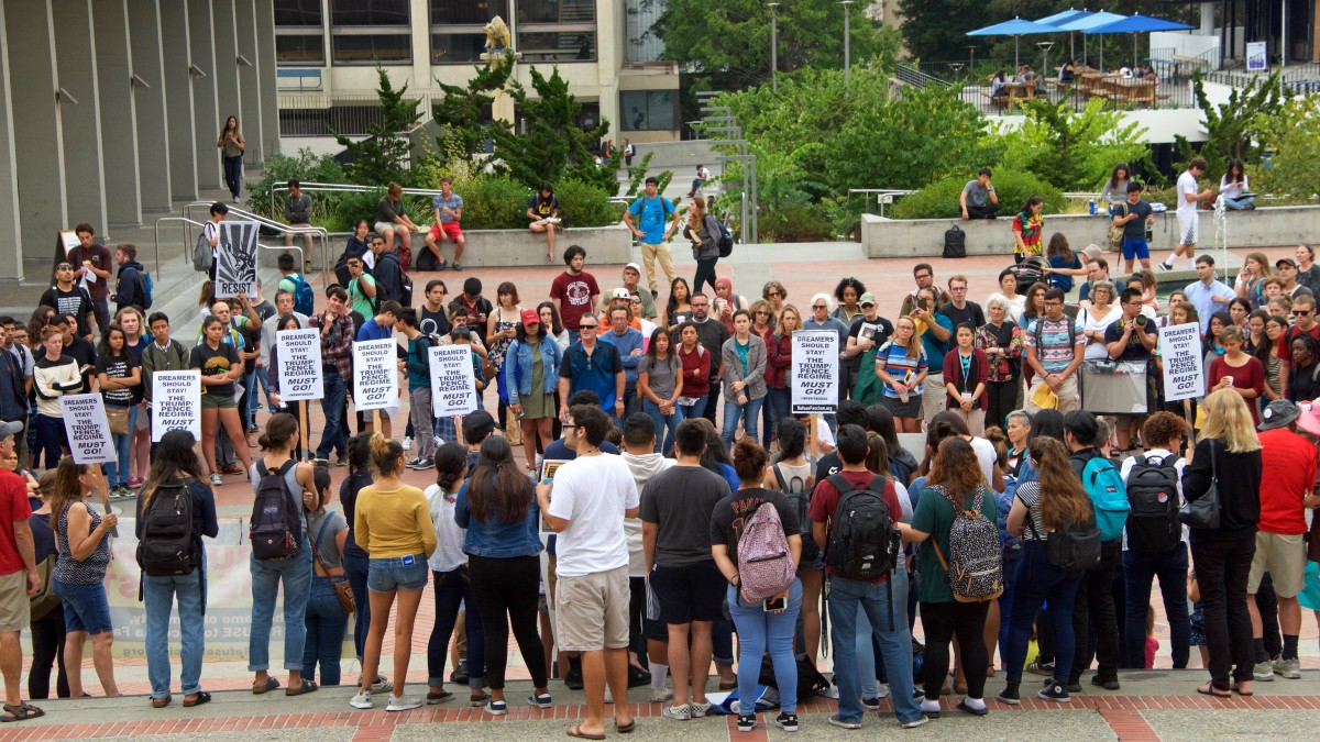student protest fees grad students