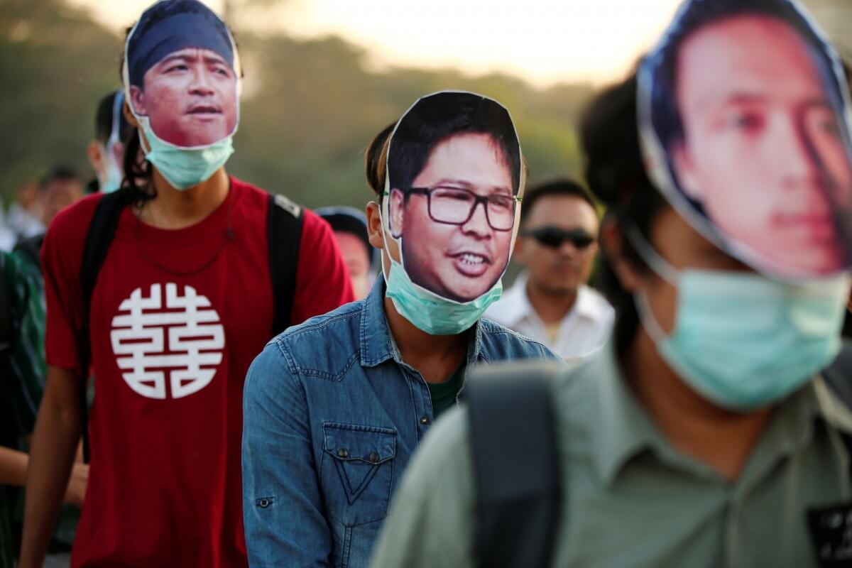 Burma, Reuters journalists