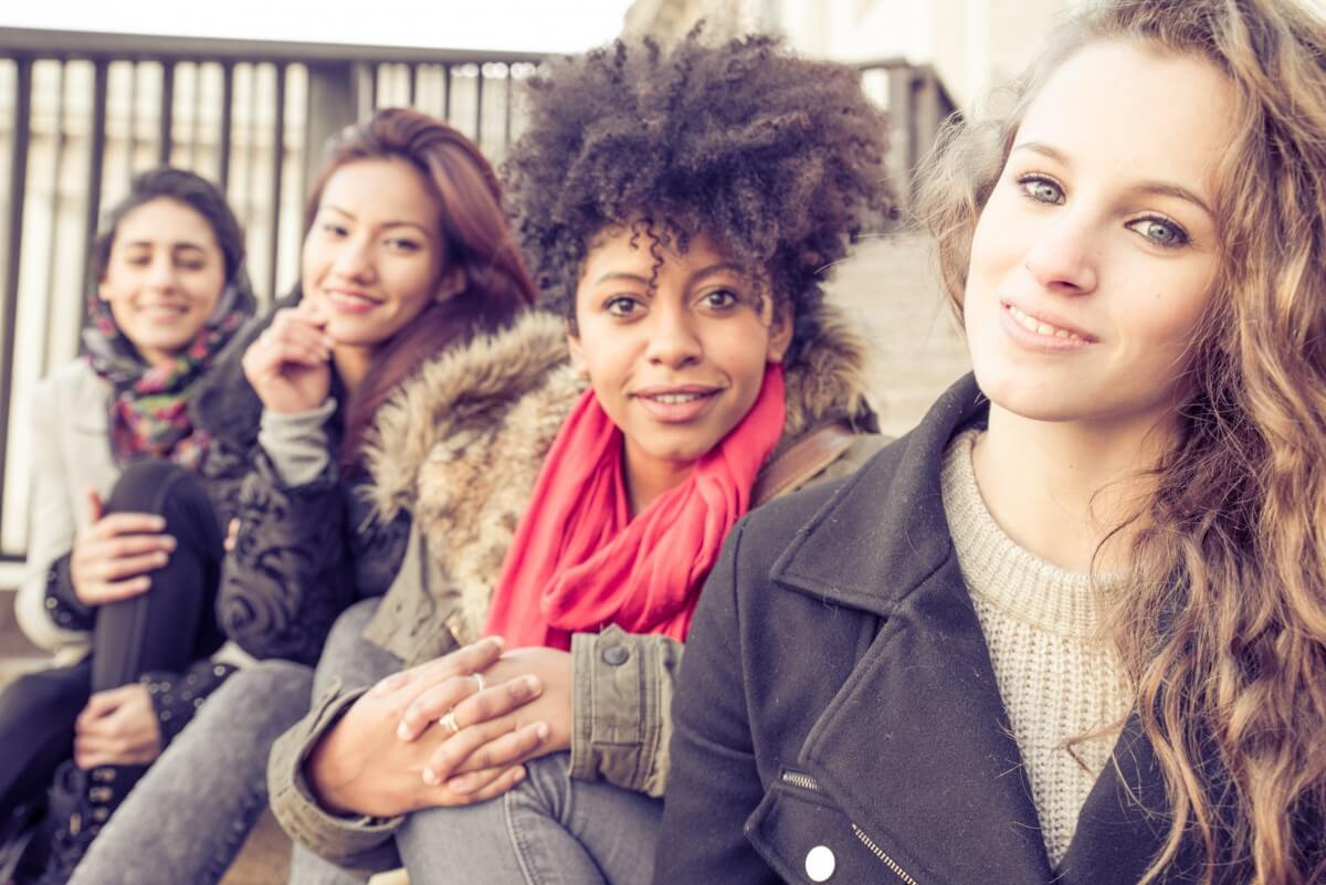 a group of women from diverse backgrounds