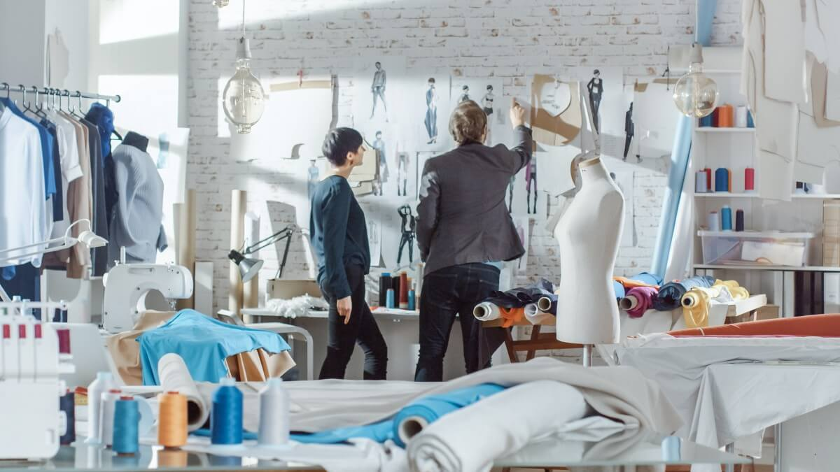 How are textile students tackling fast fashion?