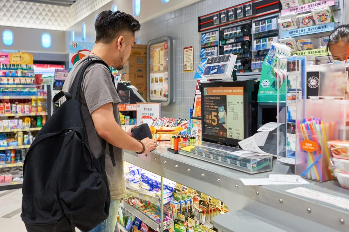 On-campus food stores