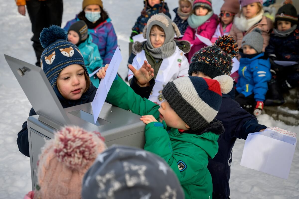 Swiss preschoolers engage in 'citizenship project' to learn democracy