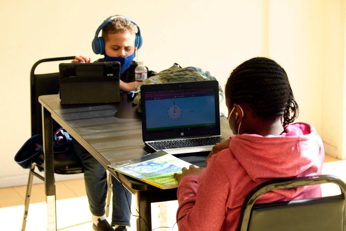 Learning lifeline for London kids struggling to do online lessons