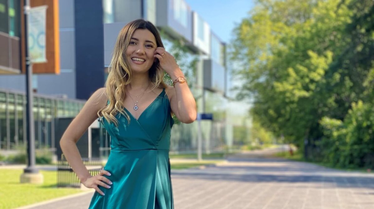 From Tajikistan to Canada, this international graduate found her calling in service