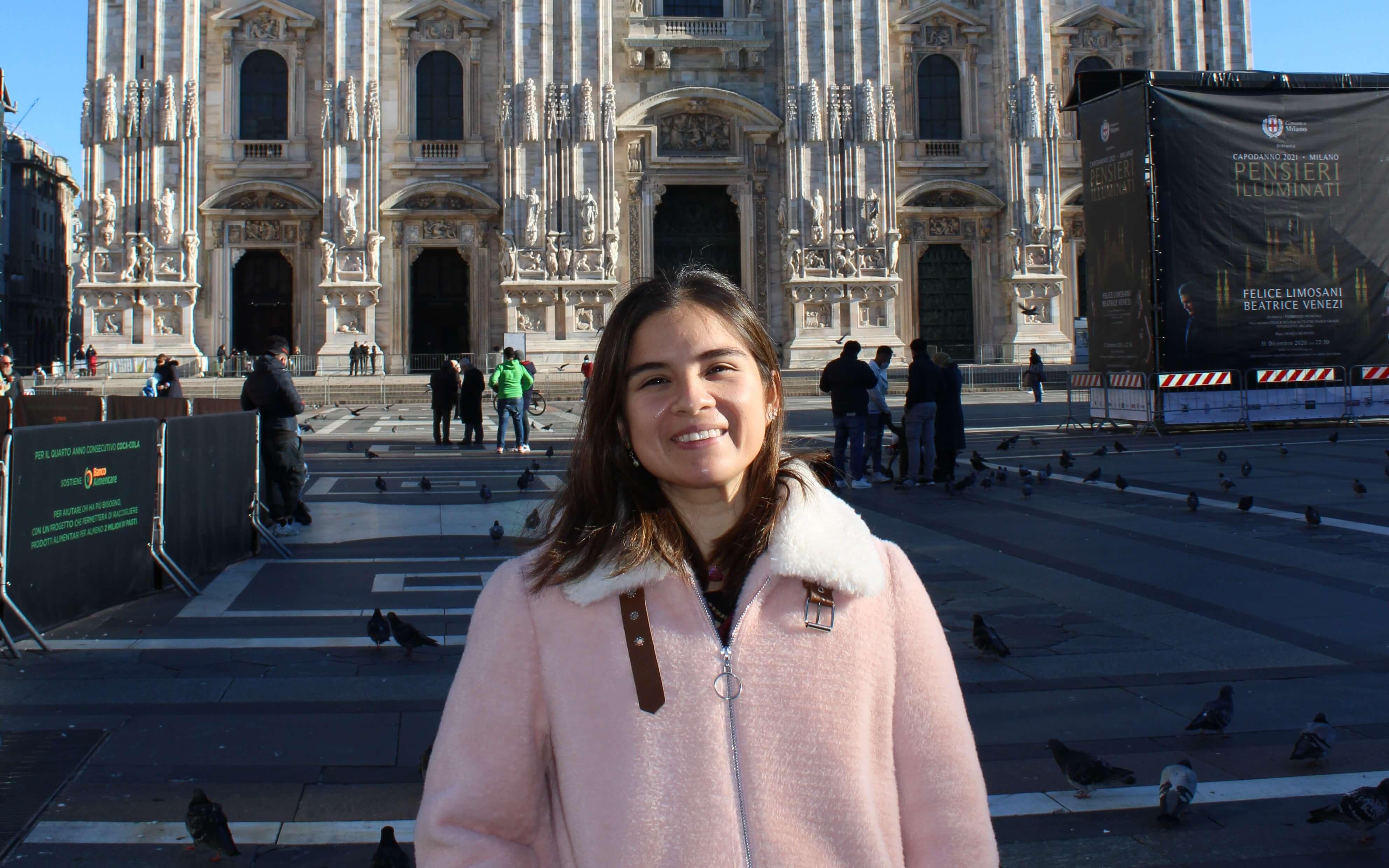 The Peruvian who won an MBA scholarship to Italy