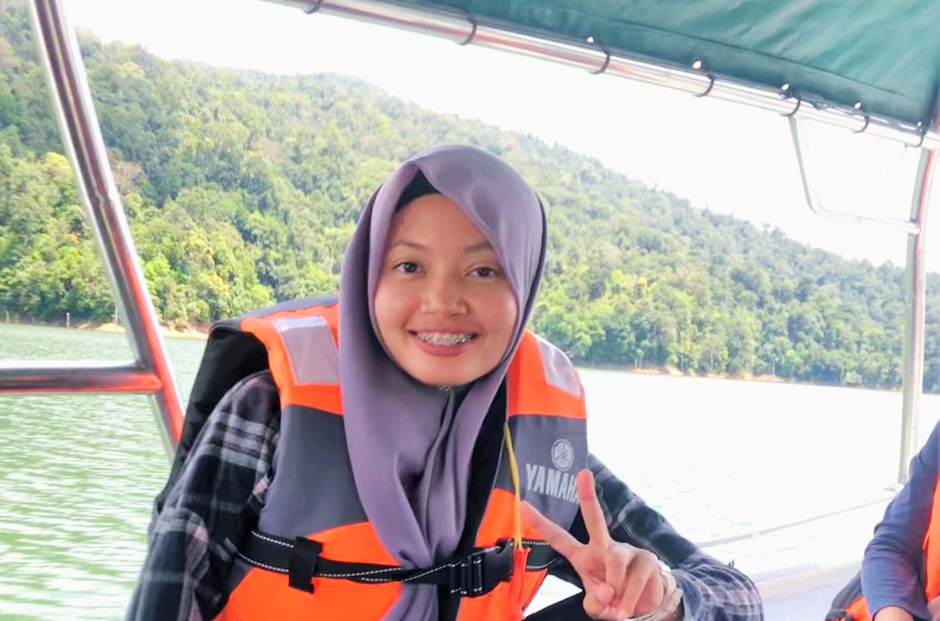 How a Malaysian won a scholarship to save fish in Scotland