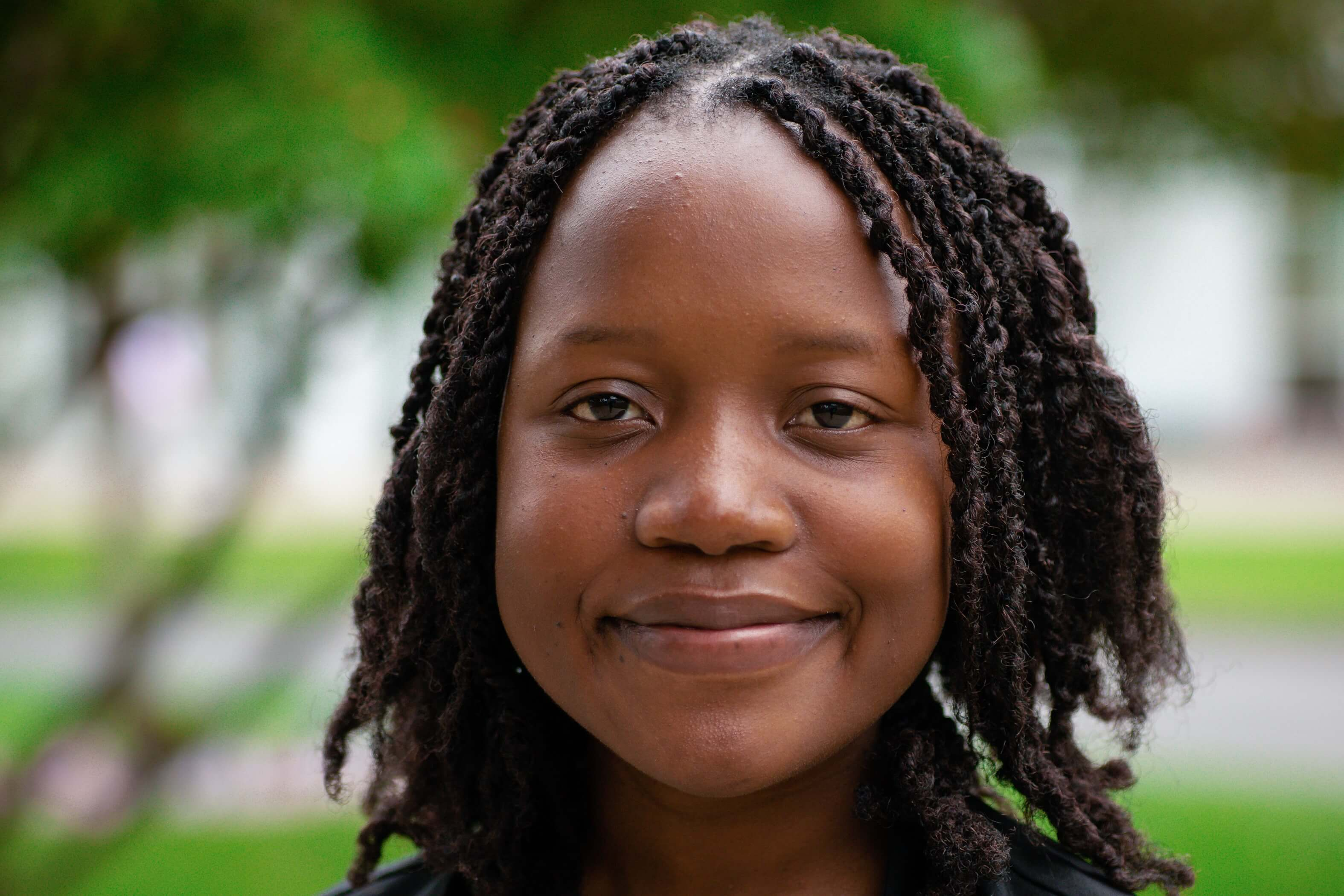 The Zimbabwean who won a fellowship to pursue a master's degree in the US